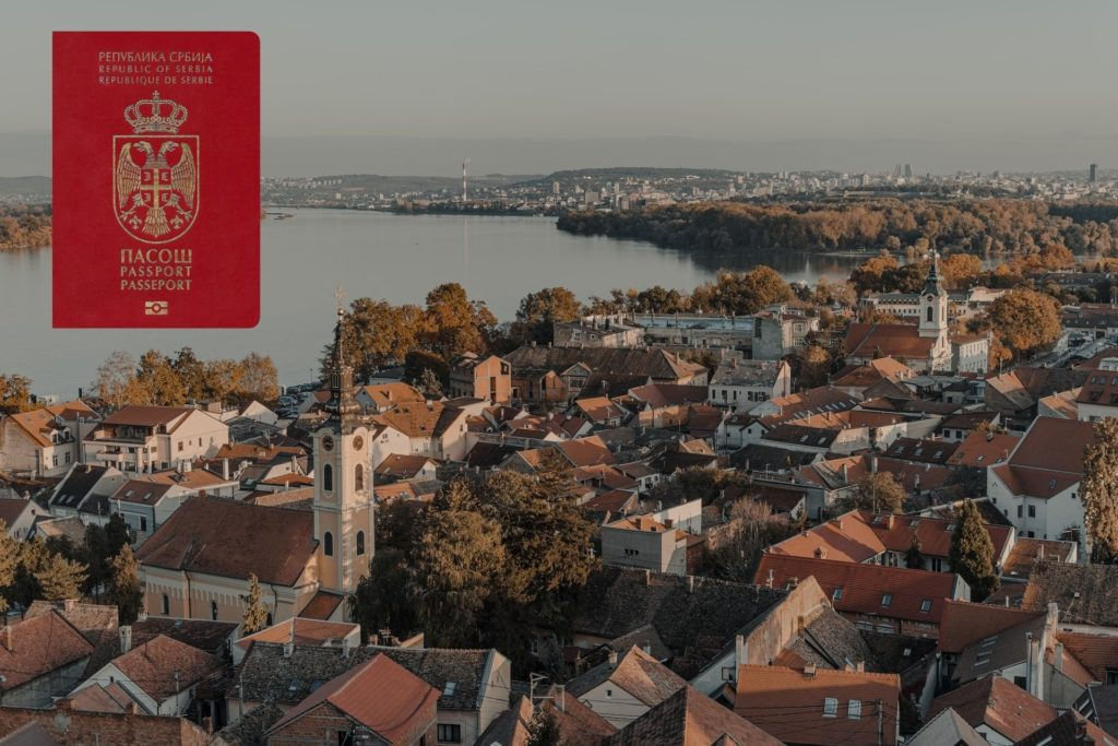 passport of serbia