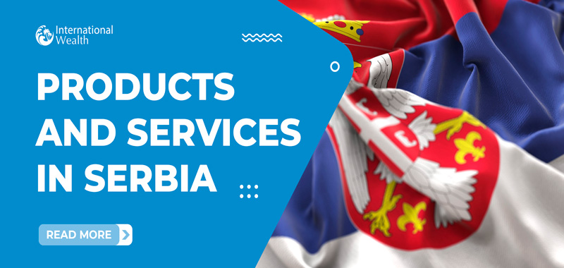 products and services in Serbia